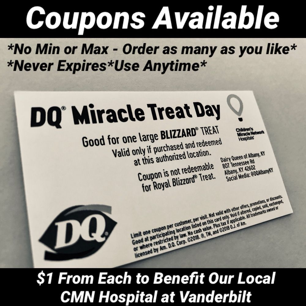 Dairy Queen: 807 Tennessee Rd, Albany, KY