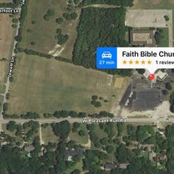 Faith Bible Church - Churches - 1437 W Pleasant Run Rd