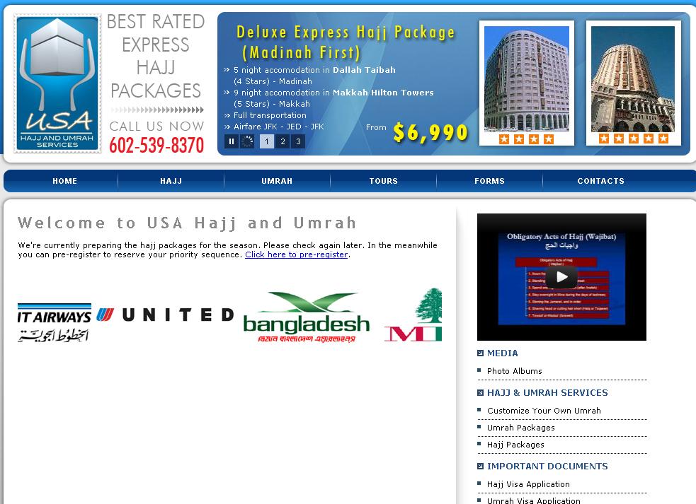 USA Hajj and Umrah