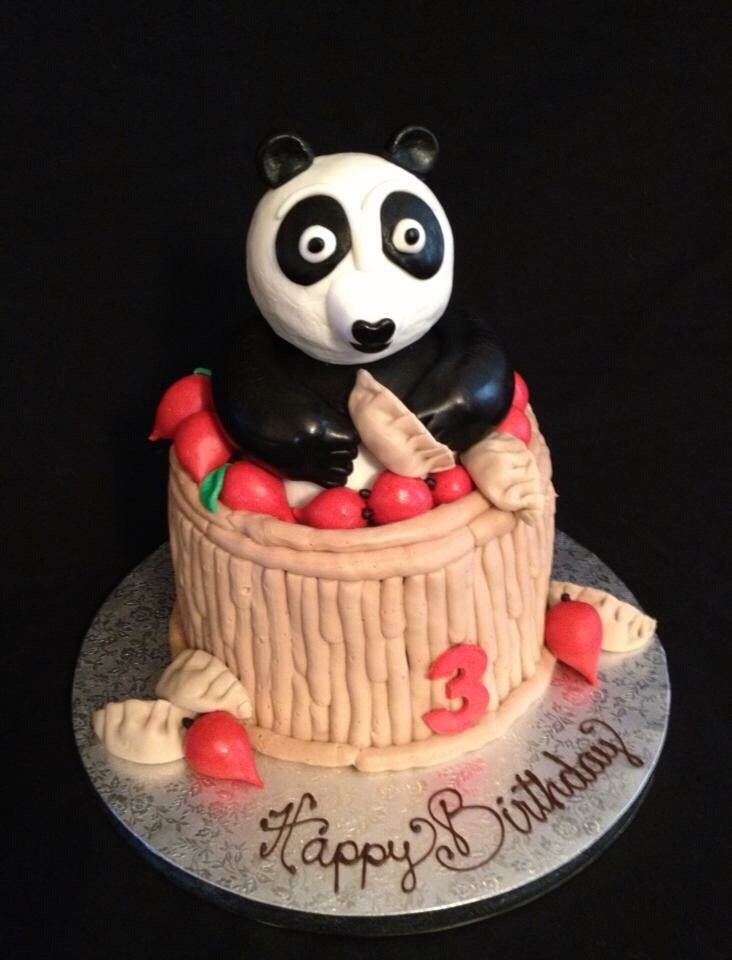 My Sons Kungfu Panda 3rd Birthday Cake One Of My Favorites Yelp