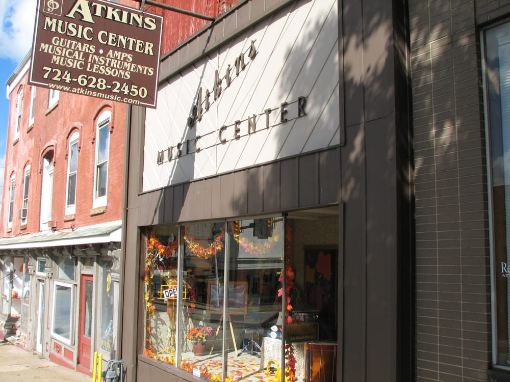 Atkins Music Center: 166 W Crawford Ave, Connellsville, PA