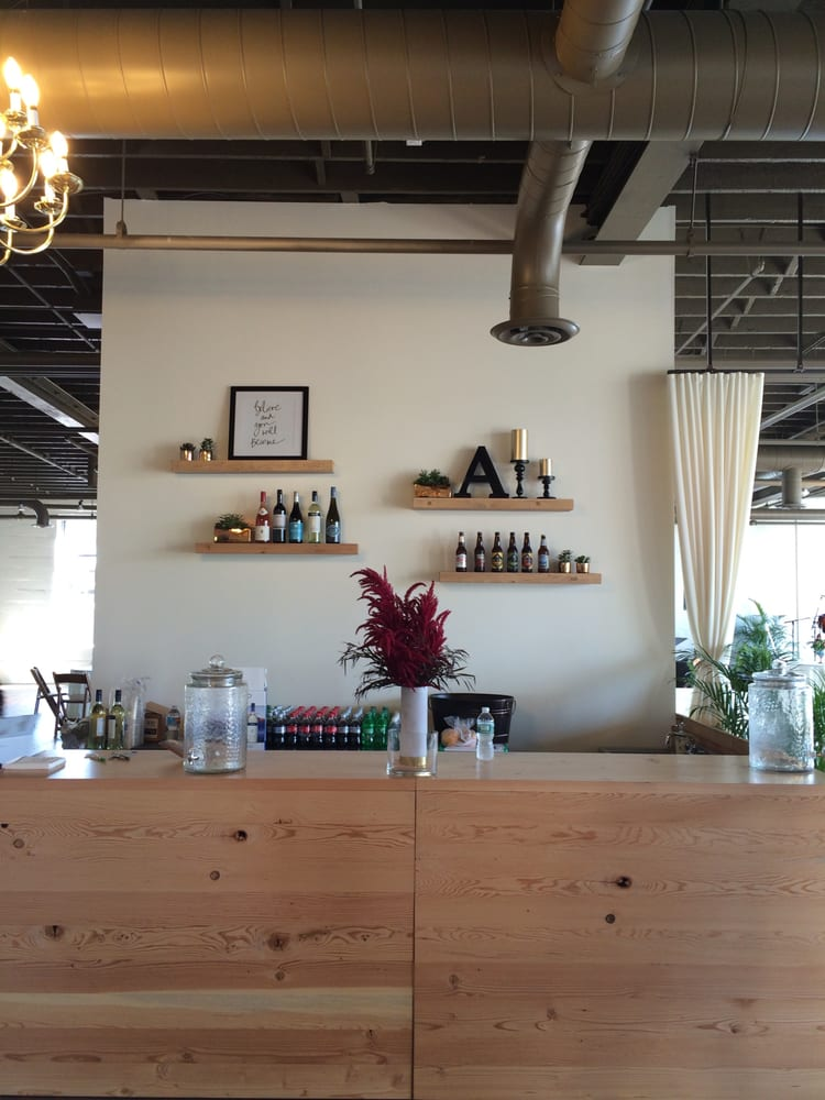 Our bar is one of a kind created with re purposed wood