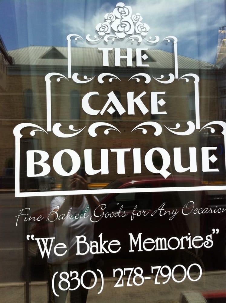 Cake Boutique: 105 Goldbeck St, Uvalde, TX
