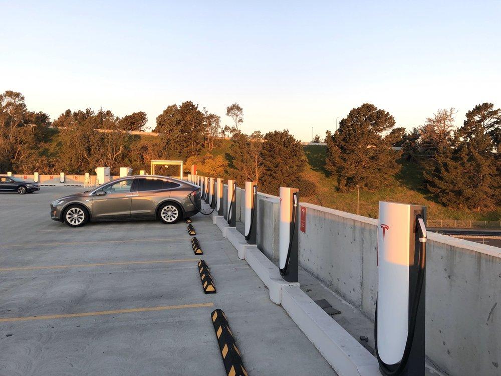 Tesla Supercharger- Daly City: 3 Serramonte Center, Daly City, CA