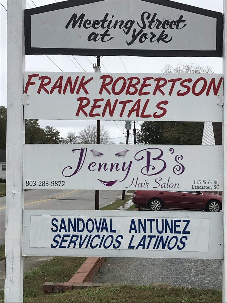 Frank Robertson Rentals: 115 N York St, Lancaster, SC