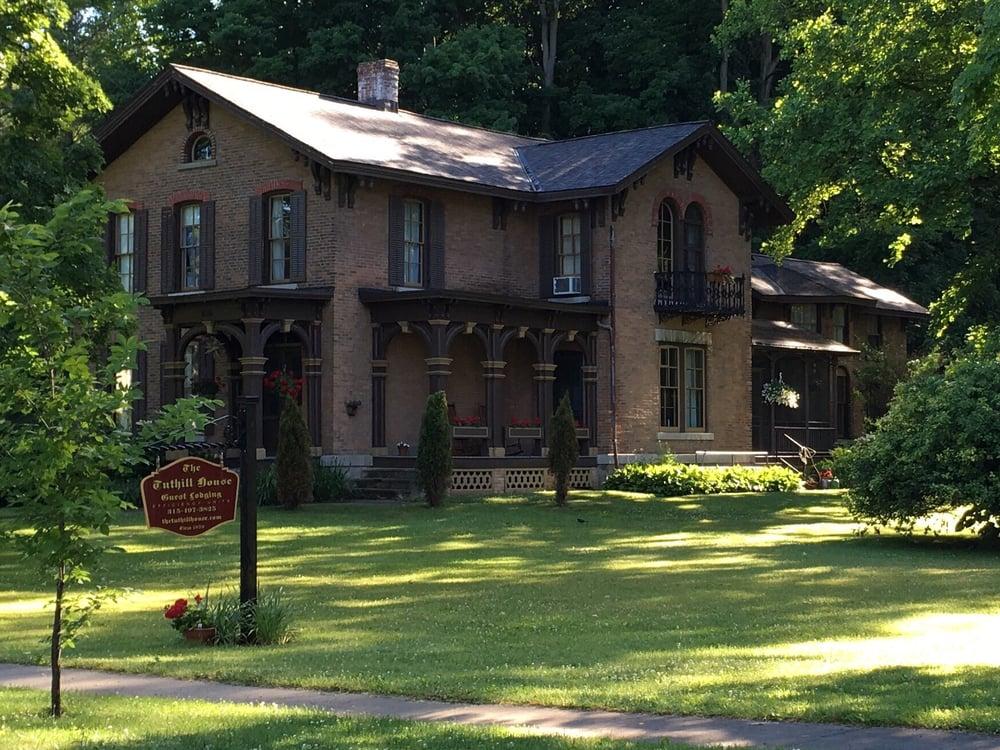 The Tuthill House: 184 N Main St, Moravia, NY