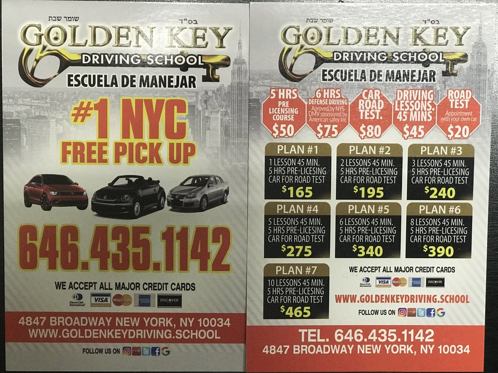 Golden Key Driving School 87 Reviews Driving Schools 4847