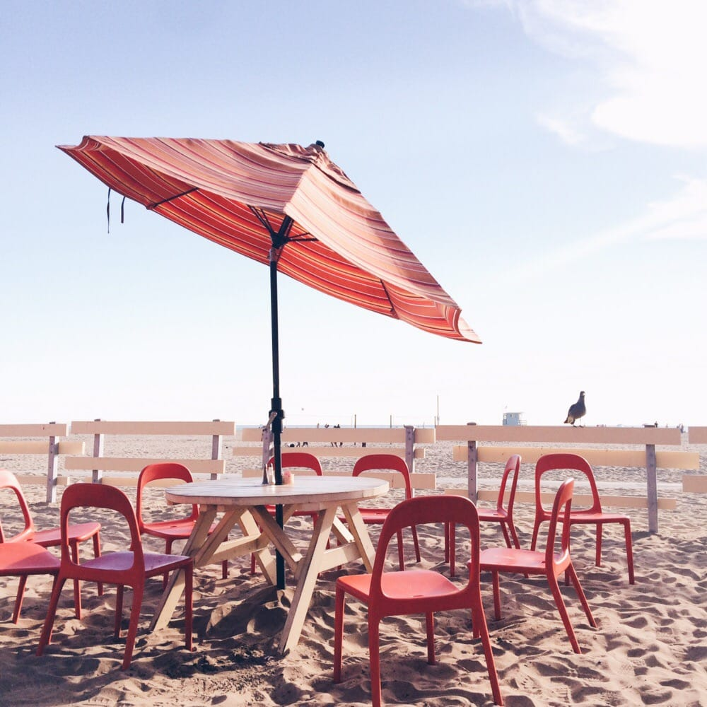 Photo Of Back On The Beach Santa Monica Ca United States Serene