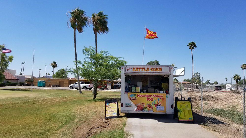 Fry's Kettle Corn: 13640 S Sunland Gin Rd, Arizona City, AZ