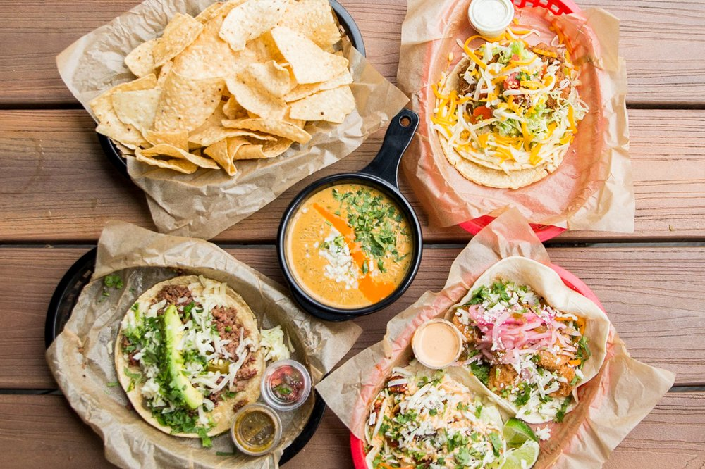 Food from Torchys Tacos