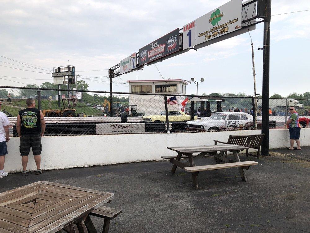Lancaster National Speedway & Dragway: 57 Gunnville Rd, Lancaster, NY
