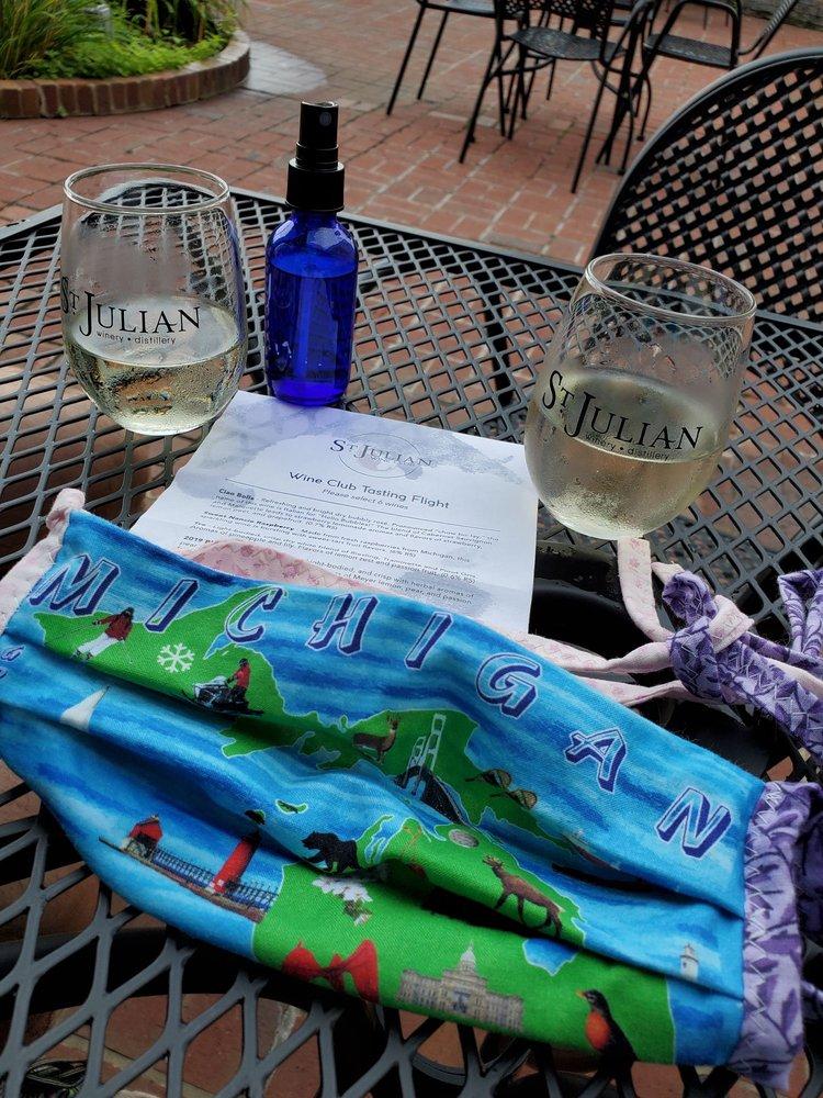 St. Julian Winery & Distillery: 716 S Kalamazoo St, Paw Paw, MI