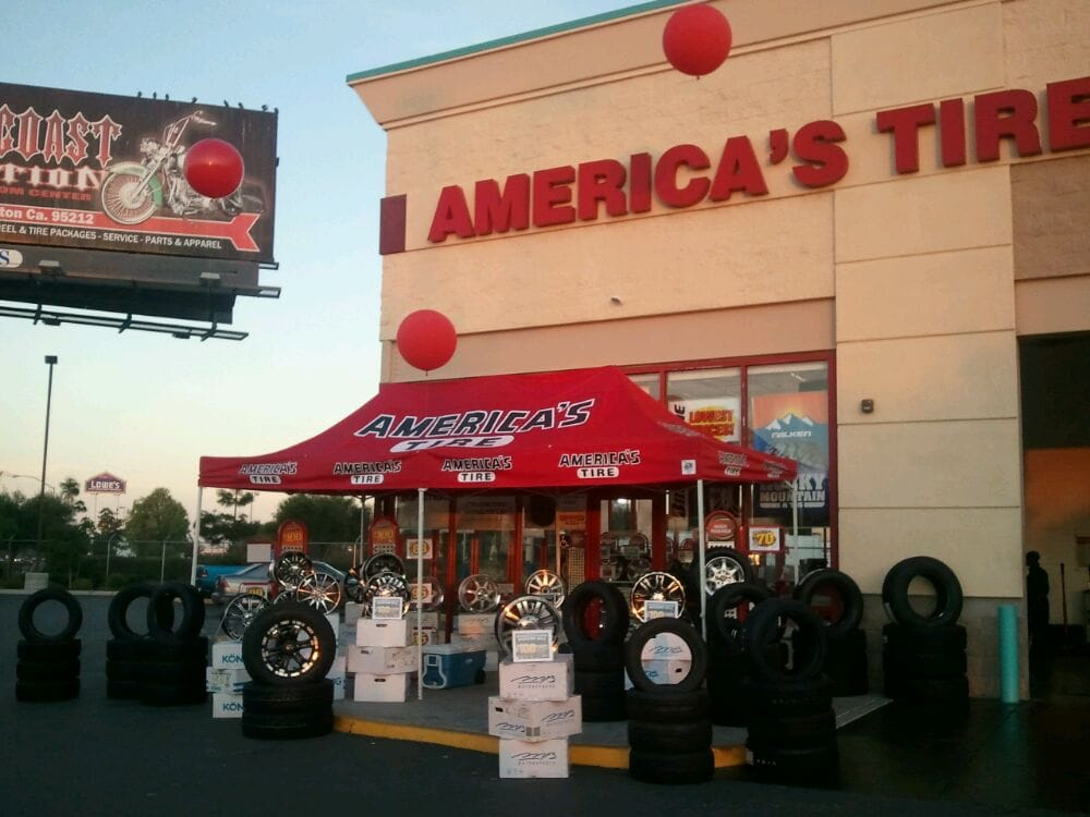 About America's Tire. Get the best deals on wheels and tires with America's Tire online coupons. Compare options, shop sales, and have your tires shipped to the nearest America's Tire store.