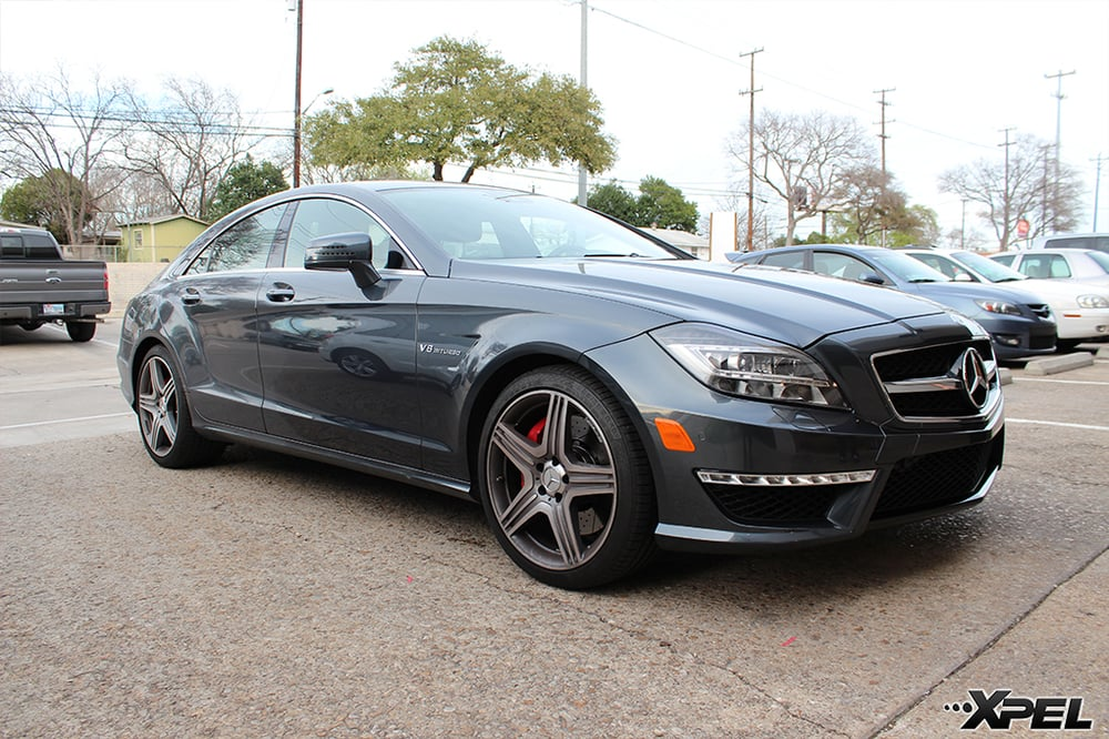 Mercedes benz cls63 amg xpel clear bra yelp for Mercedes benz service san antonio