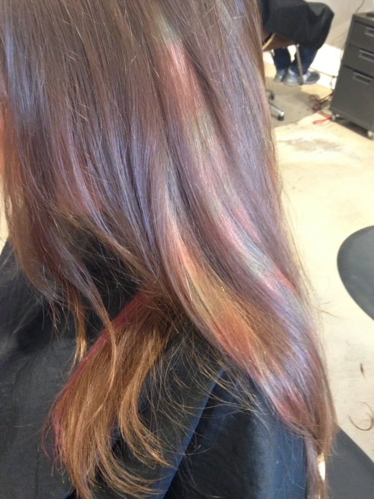 Colorfull Flamboyage Mesh Yields Incredible Mother Of Pearl Effect