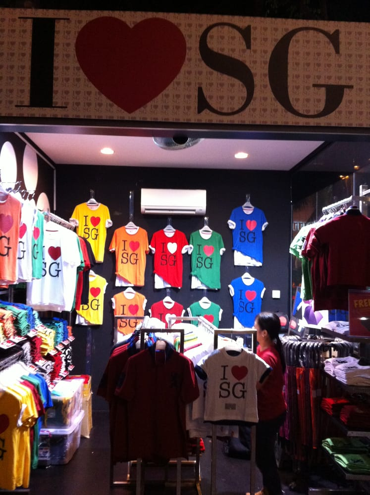 I Love Singapore Shirts