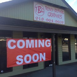 004f133c Photo of Trench Brothers Graphics - Grove, OK, United States. New Store  front