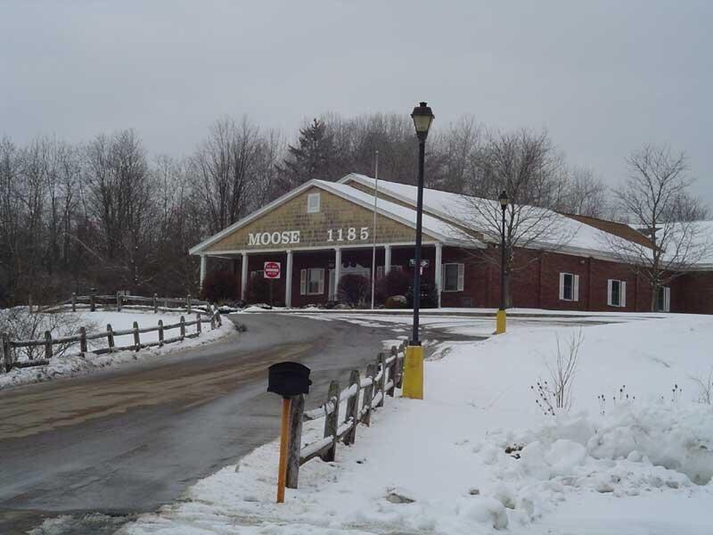 The Johnstown Moose Family Center: 109 S Comrie Ave, Johnstown, NY