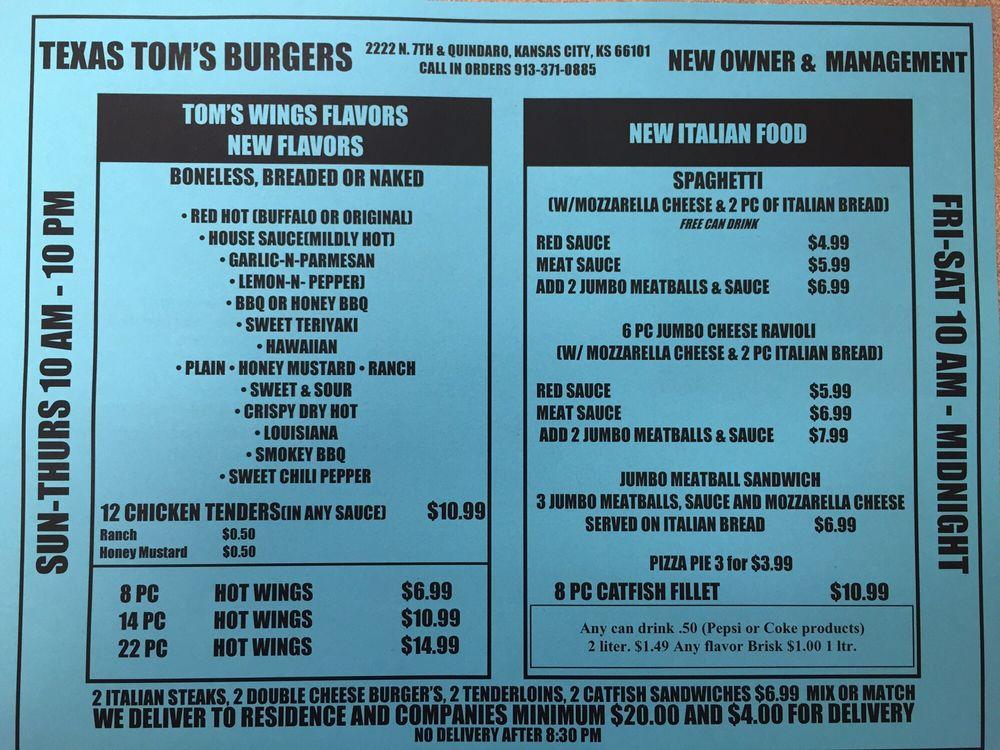Texas Tom's