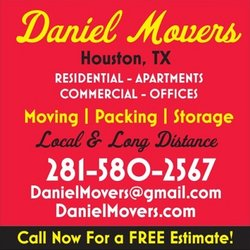 Daniel Movers Movers Bamwood Rd Houston TX Phone - Apartment movers houston tx