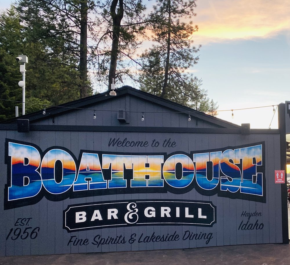 The Boathouse Bar & Grill: 3799 E Hayden Lake Rd, Hayden, ID