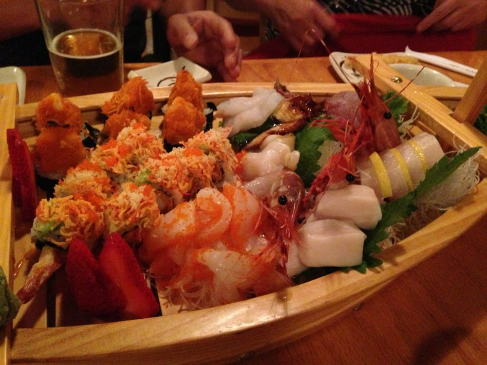 Sushi on a boat yelp for Dining near brentwood tn