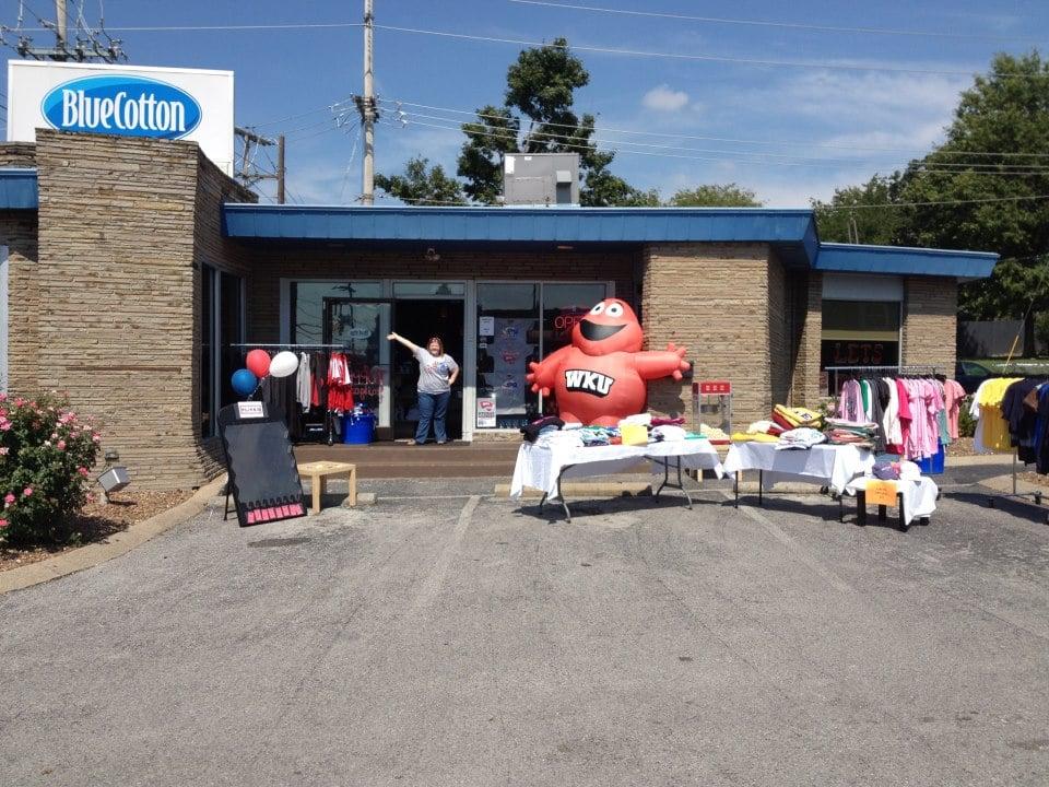BlueCotton Retail Store: 1104 Broadway, Bowling Green, KY