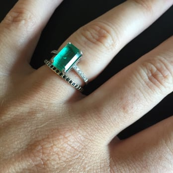 Photo Of Elleven Jewelry Brooklyn Ny United States Reset Emerald Engagement Ring