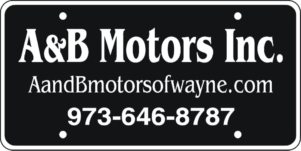 A And B Motors - Car Dealers - 68 Greenwood Ave, Wayne, NJ - Phone Number - Yelp
