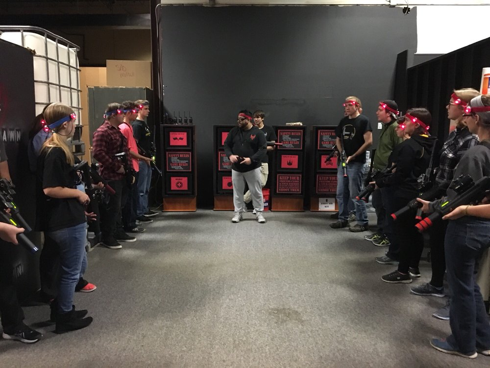 Social Spots from Respawn Tactical Laser Tag