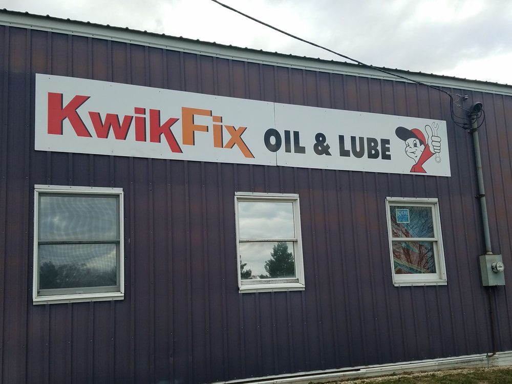 Kwik Fix Oil & Lube: 250 W Nebraska St, Elburn, IL