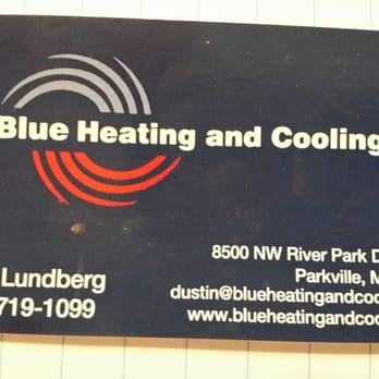 Blue Heating And Cooling Heating Air Conditioninghvac 8500