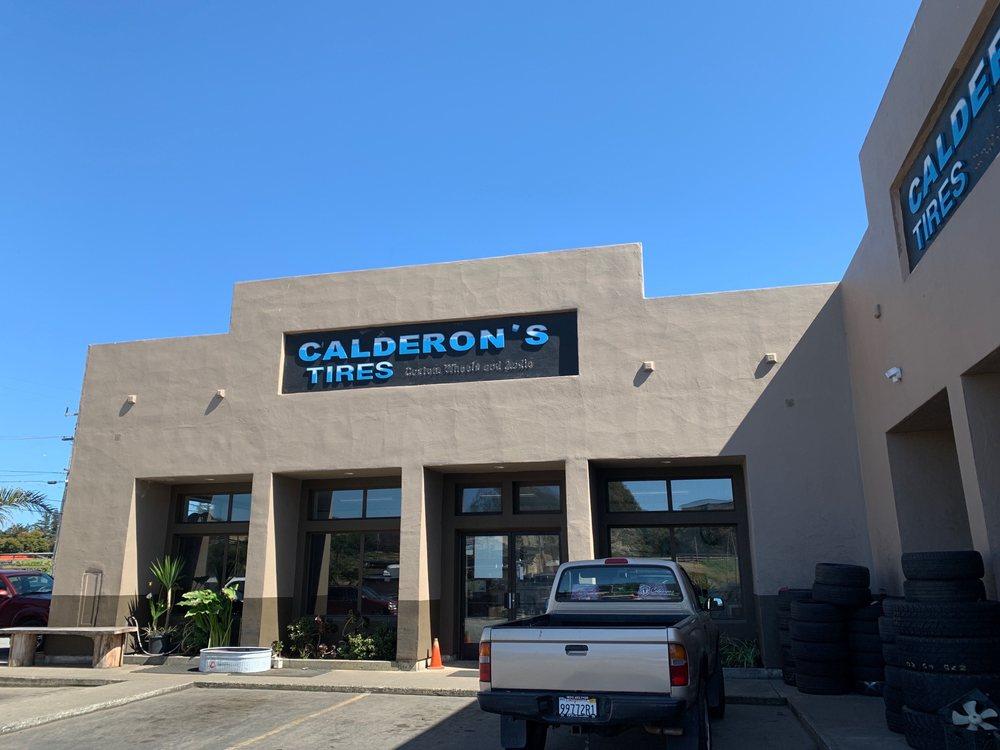 Calderon Tires: 2240 Del Monte Ave, Monterey, CA