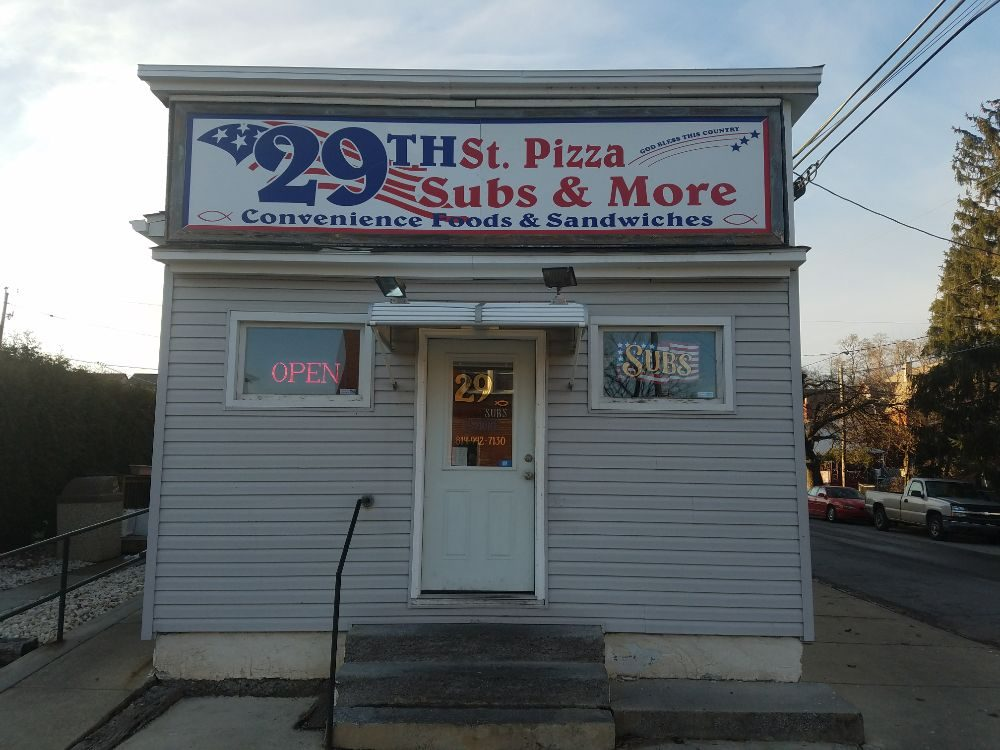 29th St. Pizza, Subs and More: 2900 5th St, Altoona, PA