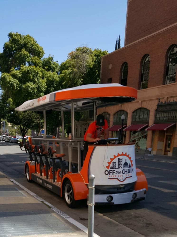 SACTOWN Bike Bus Tours