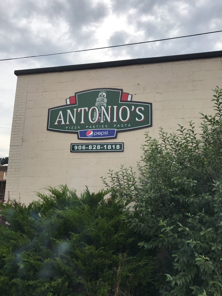 Antonio's Pizza, Pasta & Pasties: 400 S Stephenson Ave, Iron Mountain, MI