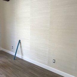 Photo of Wallpaper Company - Scottsdale, AZ, United States. Natural Grasscloth looks amazing