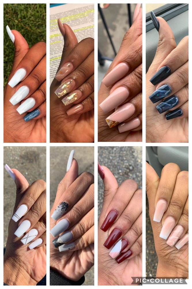 V V Nails: 9384 Florida Blvd, Walker, LA