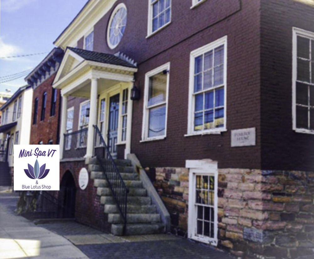 Mini Spa VT & Blue Lotus Shop: 166 Battery St, Burlington, VT