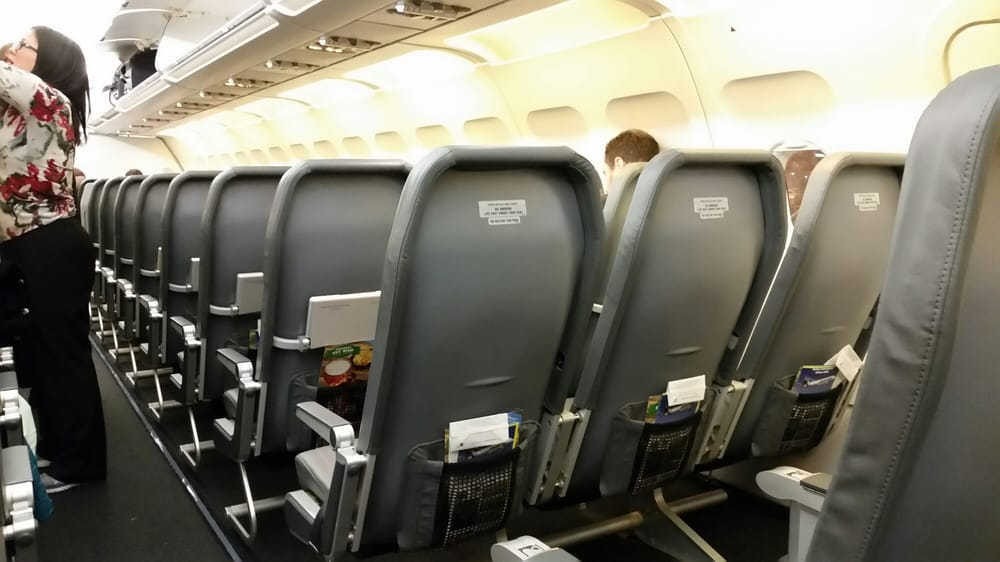 Image result for frontier airlines plastic seats