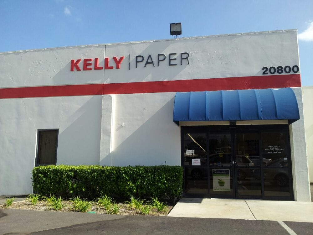 How to get to Kelly Paper Store Warehouse in Walnut by Bus or Train