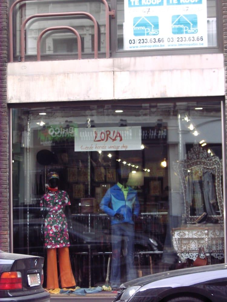 Loria - Used, Vintage & Consignment - Nationalestraat 122