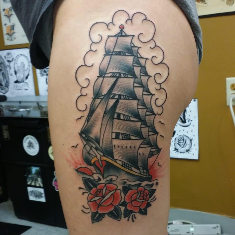 Electric iron tattoo tattoo 5502 troost ave kansas for Kansas city tattoo