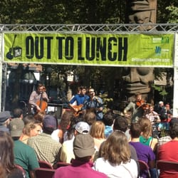 Out To Lunch Concert Series Seattle