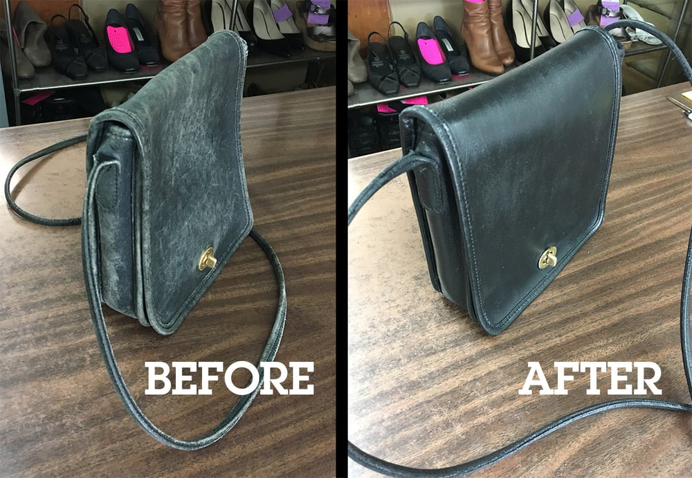 721d5716f0 35-year-old Coach bag restored! Other side. - Yelp