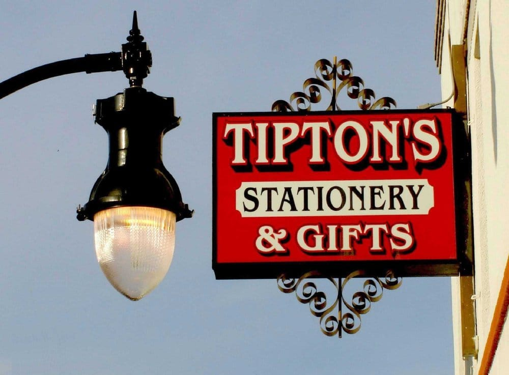 Tipton's Stationery & Gifts: 169 W Yosemite Ave, Manteca, CA