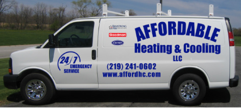 Affordable Heating & Cooling: 1021 N 200th W, Valparaiso, IN