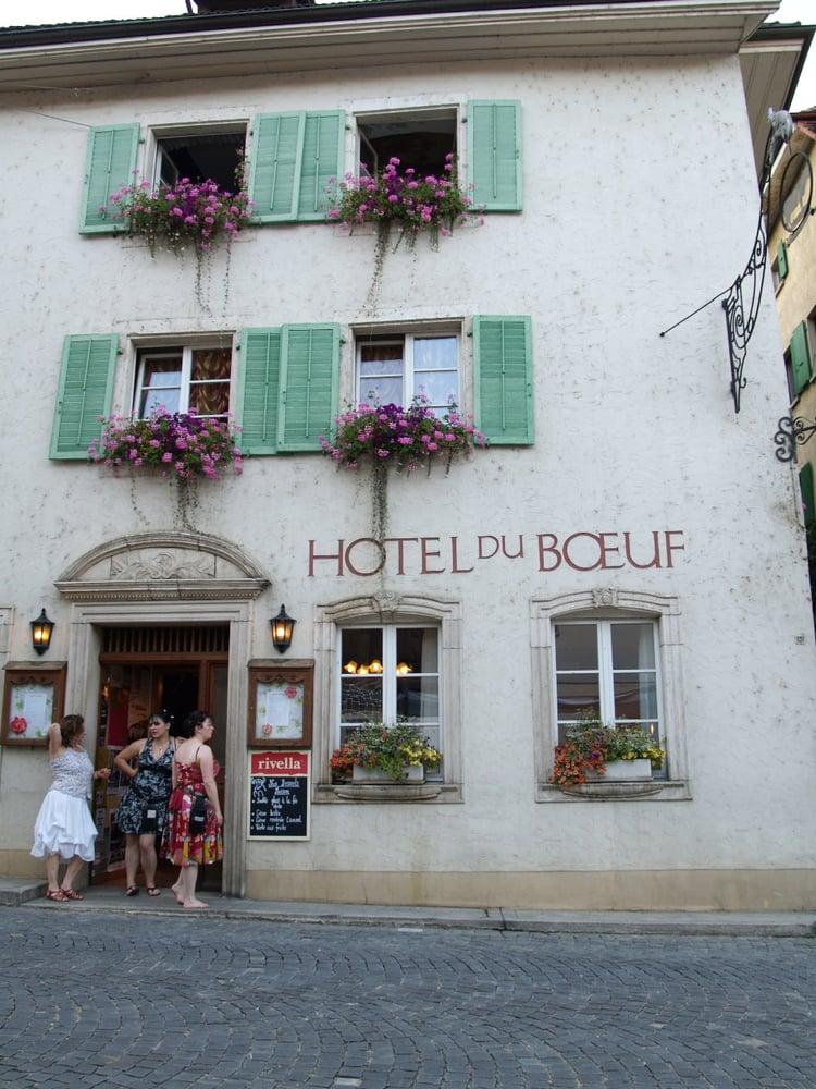 Hôtel du Boeuf - Saint-Ursanne