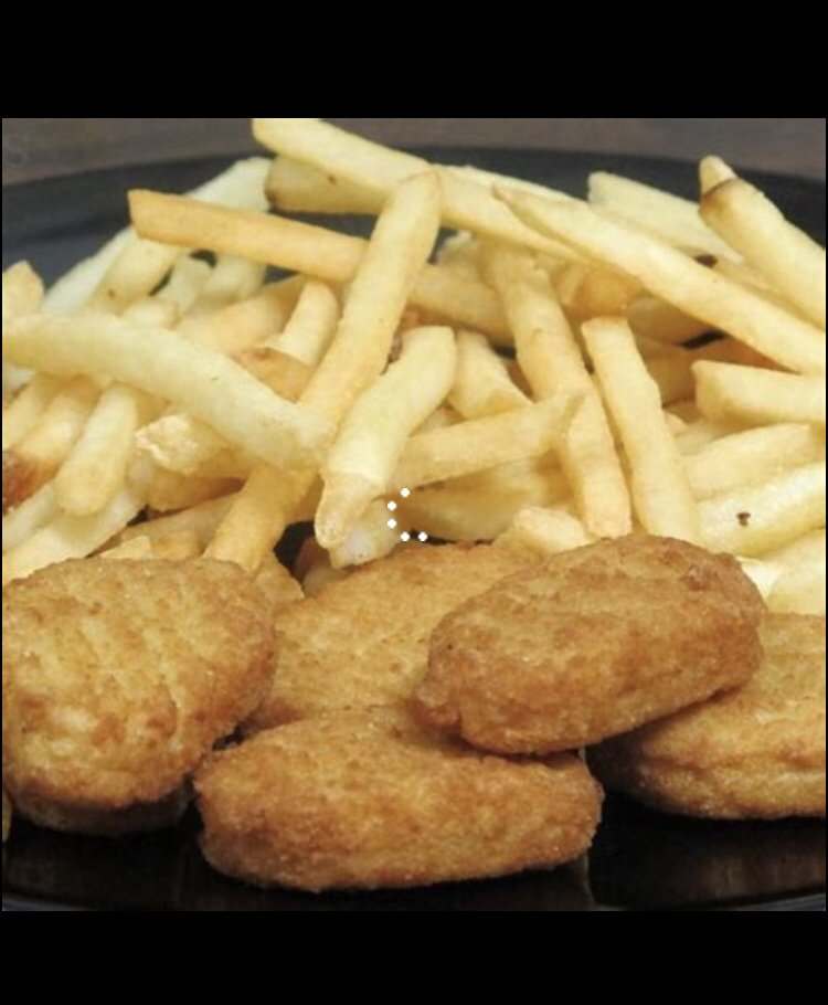 Chicken Nuggets And French Fries