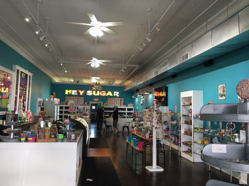Hey Sugar Candy Store: 108 N Trinity St, Decatur, TX